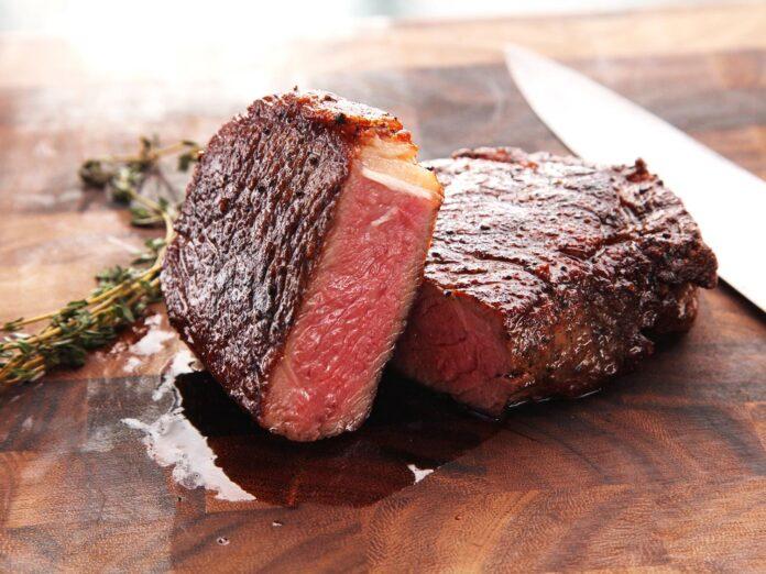Billede af grillet steak sous vide