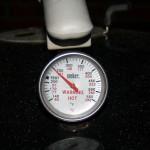 Billede af grilltermometer